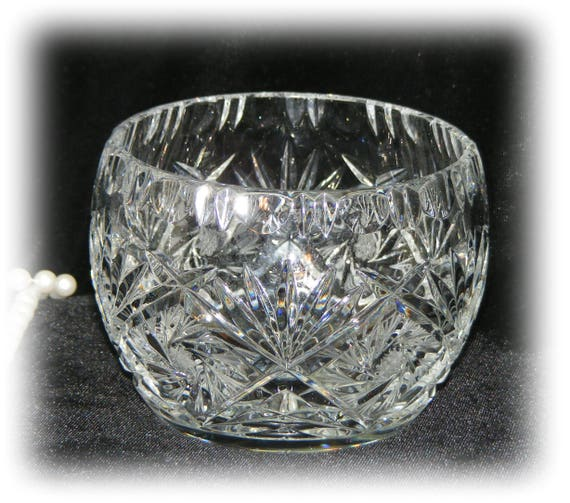 Gorgeous Crystal Serving Bowl