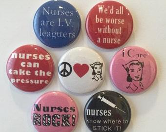 Nurse Magnets - set of 7