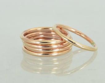 Round Classic Size Bronze Ring(s),Bronze Ring, Bronze Stacking Ring, Round Bronze Band, Gold Bronze Ring, Boho Bronze Ring, Bronze Jewelry