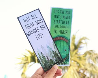 J.R.R. Tolkien - quoted bookmark