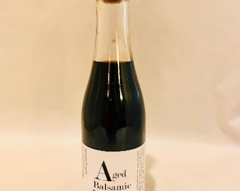 Aged Balsamic Vinegar - Mini Champagne Bottle