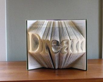 Regalos / presente - sueño - medida plegada libro arte - única boda presente - personalizado regalo - inspiración