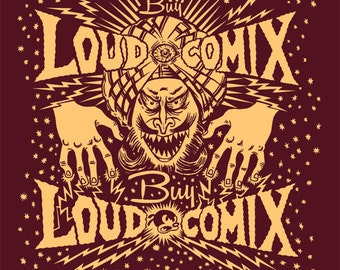Buy LOUD COMIX hypno shirt by Jamie Vayda