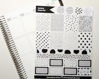 Spotted Kit - Planner Stickers - Erin Condren - Happy Planner