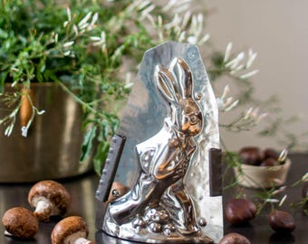 Collectible Easter Rabbit Artist with Brushes Chocolate Mold