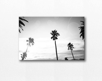 palm tree art beach canvas wall art canvas photography on canvas black and white wall art beach photography canvas art scandinavian gray