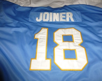 San Diego Chargers Throwback Jersey for #18 Charlie Joiner