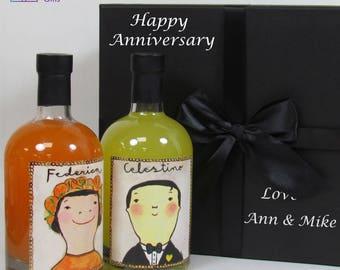 Limoncello Gift Set, Apéritif Gift Set, Federica Arancello, Celestino Limoncello