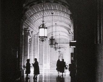 147 : Paris - Palais de Justice - limited edition screenprint