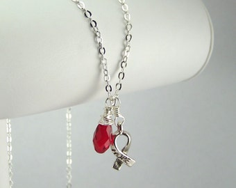 Red Awareness Necklace