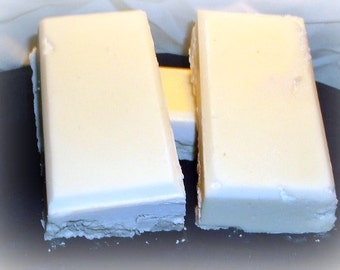 Basic Lye Soap, Unscented 4 oz bars