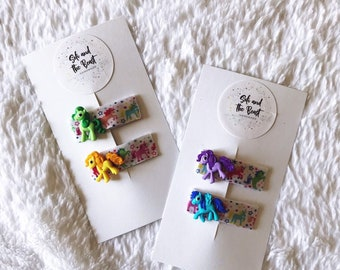 Little Pony Clip Set