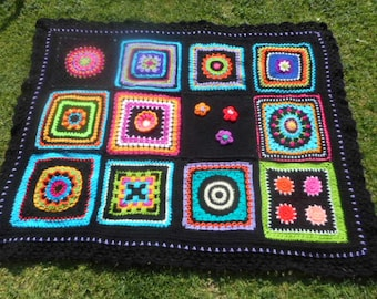 stunning crochet lap blanket