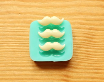 Tiny 20mm Mustache Silicone Mold