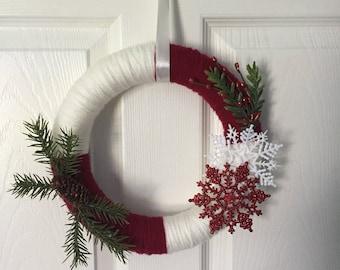 Festive Winter Wreath