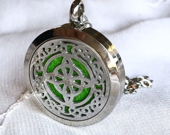 Diffuser Necklace, Essential Oils Locket, Aromatherapy Necklace, Perfume Locket, Aromatherapy Necklace
