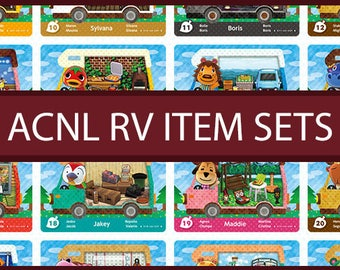 Animal Crossing New Leaf: RV Item/Furniture Sets
