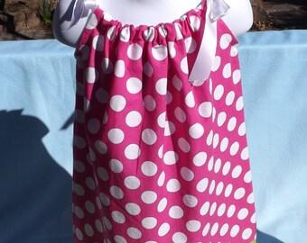 polka dot pillow case dress