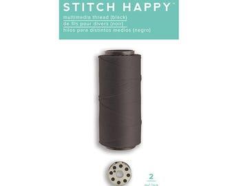 Stitch Happy 660371 Thread (Black)