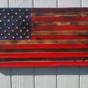 Us Flag Coin Holder Etsy