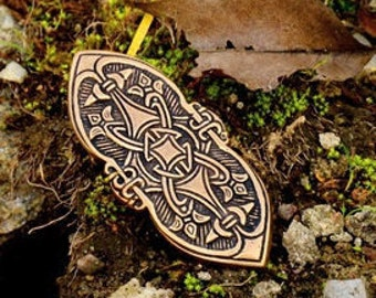 Replica of a Viking brooch from Birka - [07 Br Birka 1/N1 B-5]