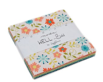 Well Said Charm Pack Charm Pack by Sandy Gervais for Moda Fabrics, SKU 17960PP
