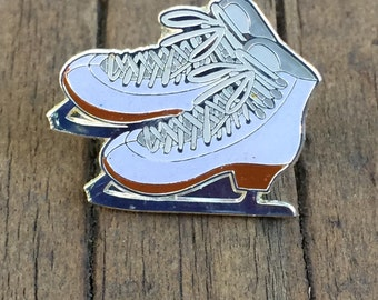 Ice Skates Figure Skating Soft Enamel Lapel Pin