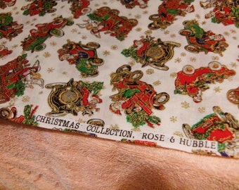 Rose and Hubble Christmas Collection 100% Cotton fabric