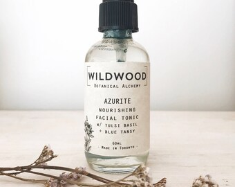 Wildwood AZURITE Facial Toner, Facial Elixir, Facial Spray