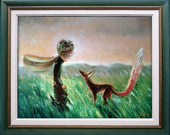 The Little Prince and the Fox  TAMING