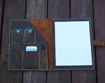Leather portfolio,,Gift for him,Leather ipad case,Leather organizer,portfolio,leather folio,business portfolio,leather organizer,ipad case.