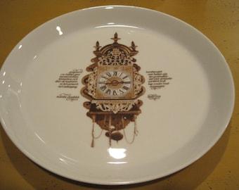 Mitterteich Porzellen clock plate
