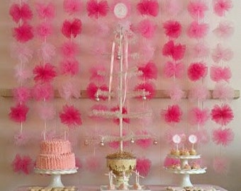 Tulle Backdrop