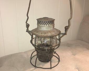 Adams & Westlake 1920's Railroad Lantern