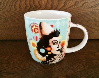 CIRQUE DU SOLEIL Coffee Mug - Cirque du Soleil Dare to Dream Coffee Tea Mug - Arts Theatre Circus Shows