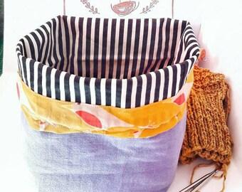 The Elegant Knitters Nest bag - Project bag