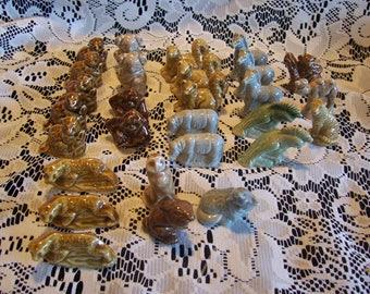 Twenty-Eight Assorted Wade Animal Figurines