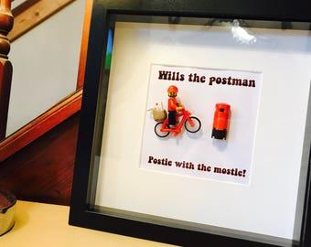 Postman Gift - Personalised  Lego® Frame!