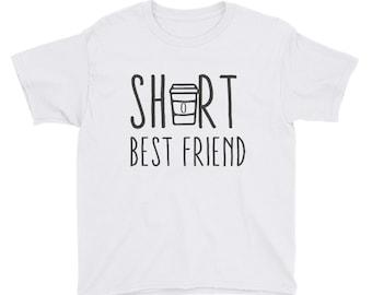 Short Best Friend Youth Short Sleeve T-Shirt