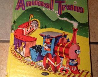 1952 Animal Train Children's Book