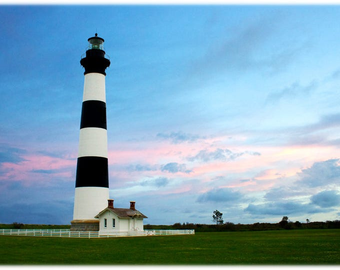 Featured listing image: Bodie Island Light at Sunset