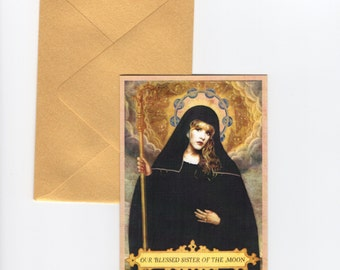 Saint Stevie // Blank Card