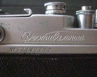 Soviet camera Zorki C FESTIVAL KMZ # 57147712