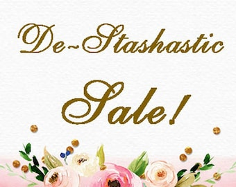De-STASH-astic SALE!  (Please do not purchase this marker title page!)