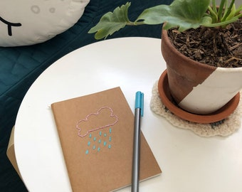 Rainy Day Pocket Notebook