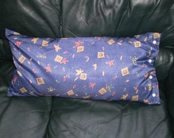 Buckwheat hulls nursing and pregnancy pillow