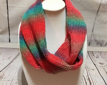 Knitted Scarf - Womens Scarf - Cowl - Infinity Scarf - Scarf - Knit Scarf - Womens Scarves - Scarf Infinity - Loom Knit Scarf - Womens Wrap