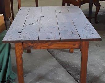 Reclaimed Tobacco Barn Oak Coffee Table