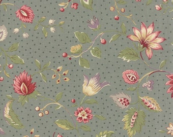 Jardin de Versailles Castl Gray 13810 16 by French General for Moda Fabrics - Quilt, Quilting, Crafts