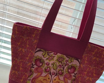 Tula Pink Birds & Bees Large Tote